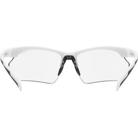 UVEX Sportstyle 802 V Sportglasses Small Women, white/smoke